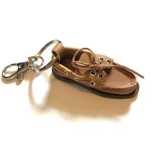 Sperry shoe keychain